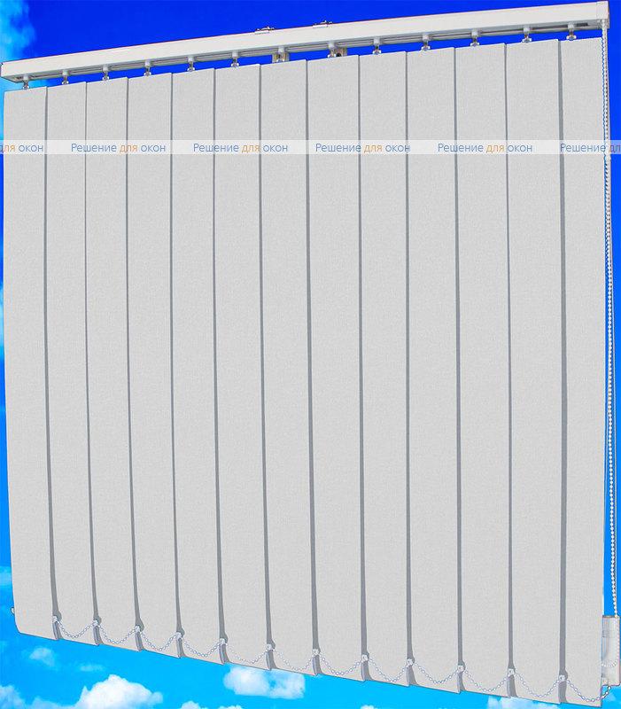 Жалюзи вертикальные БЛИЗЗАРД блэкаут 011 белый от производителя жалюзи и рулонных штор РДО