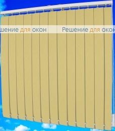 Жалюзи вертикальные БЛИЗЗАРД блэкаут 021 бежевый от производителя жалюзи и рулонных штор РДО