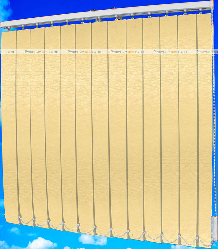 Жалюзи вертикальные БРИЗ 04 персик от производителя жалюзи и рулонных штор РДО