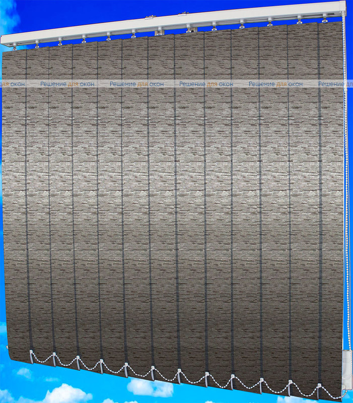 Жалюзи вертикальные БРИЗ 31 венге от производителя жалюзи и рулонных штор РДО