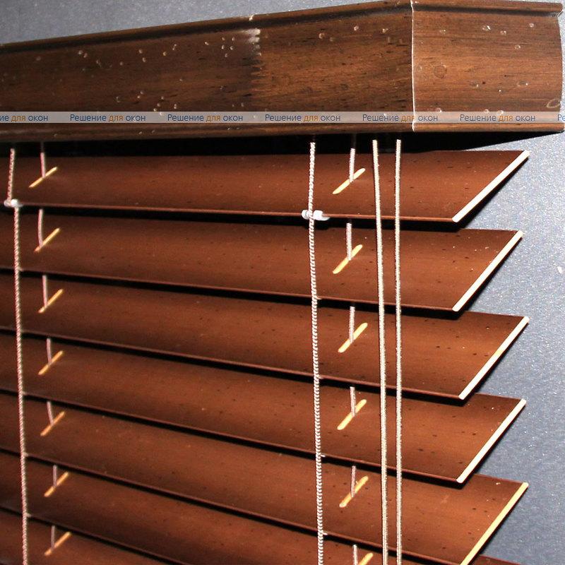 Жалюзи горизонтальные 50 мм, арт. Broun Antic от производителя жалюзи и рулонных штор РДО