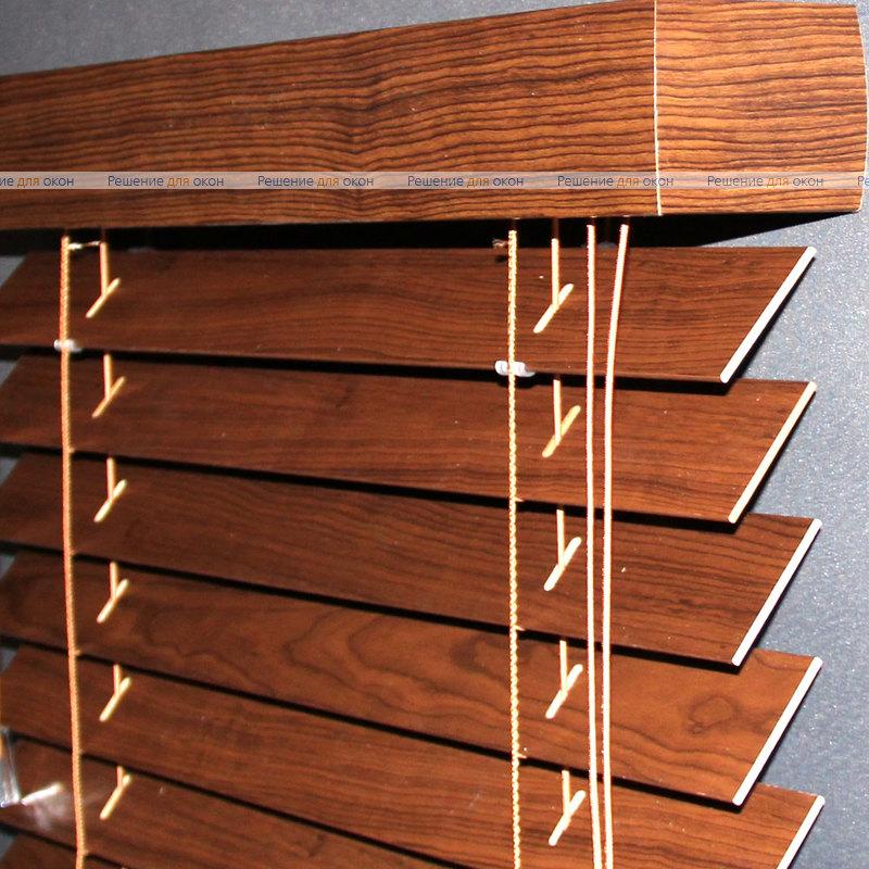 Жалюзи горизонтальные 50 мм, арт. Cherry ламинация от производителя жалюзи и рулонных штор РДО