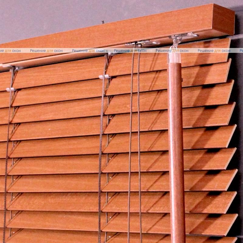 Жалюзи горизонтальные 25 мм, арт. Cherry Wood от производителя жалюзи и рулонных штор РДО