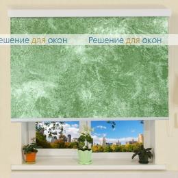 B 27 для проема, Коробные рулонные шторы B 27 КЛАУДИА B/O 800 green от производителя жалюзи и рулонных штор РДО
