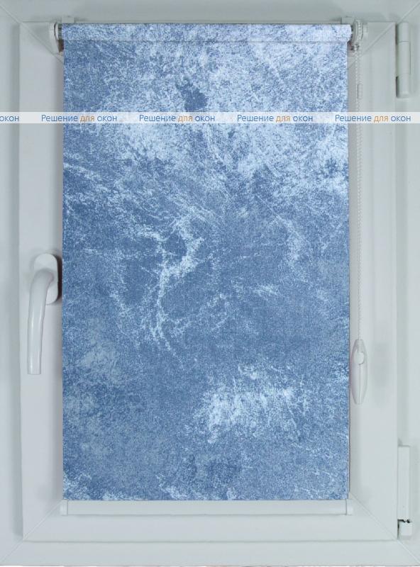 Рулонные шторы КОМПАКТ КЛАУДИА 600 blue от производителя жалюзи и рулонных штор РДО