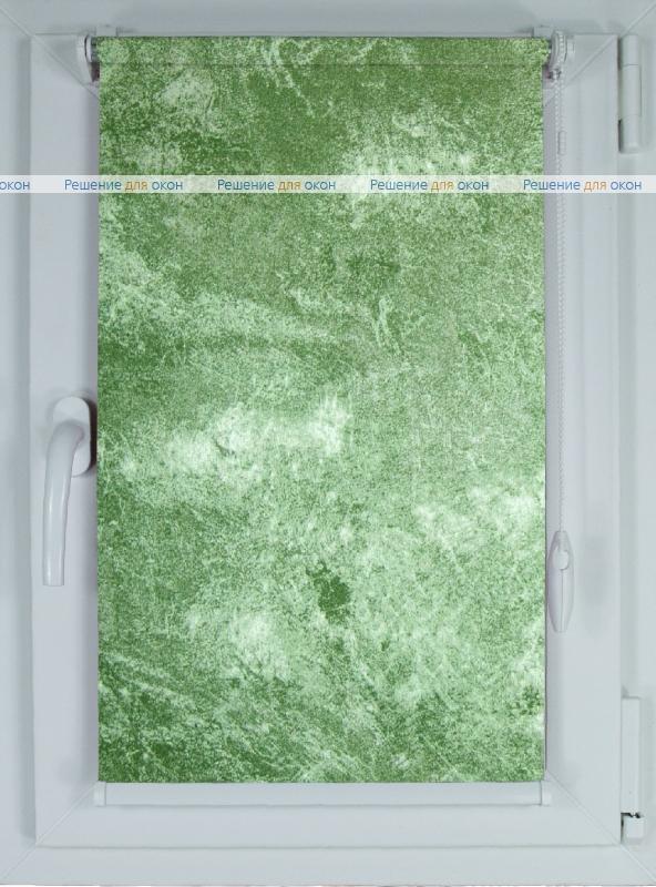 Рулонные шторы КОМПАКТ КЛАУДИА 800 green от производителя жалюзи и рулонных штор РДО