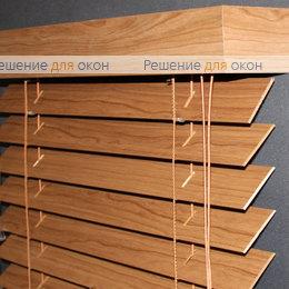 Жалюзи горизонтальные деревянные, Жалюзи горизонтальные 50 мм, арт. Darc Cherry ламинация от производителя жалюзи и рулонных штор РДО