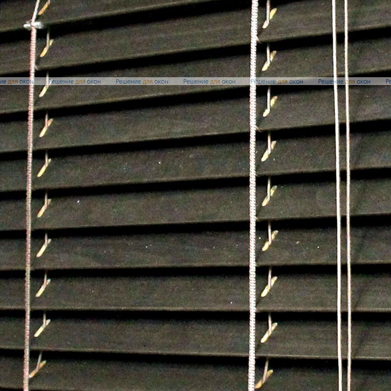 Жалюзи горизонтальные 25 мм, арт. Ebony от производителя жалюзи и рулонных штор РДО