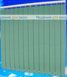 Жалюзи вертикальные ЭДЕМ 93 зеленый от производителя жалюзи и рулонных штор РДО