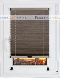 Шторы плиссе.Флаир 2178, коричневый от производителя жалюзи и рулонных штор РДО