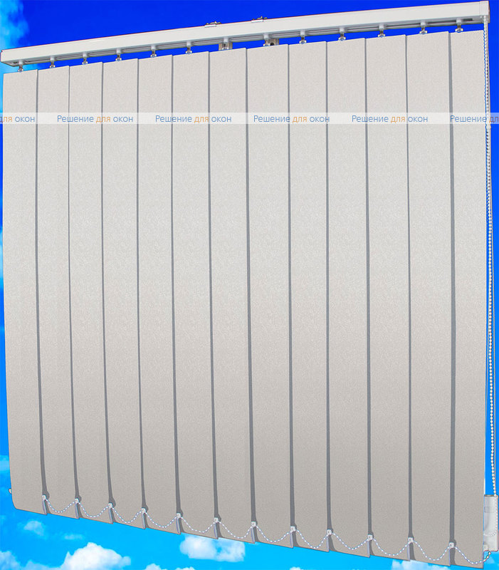 Жалюзи вертикальные ФОКУС блэкаут 01 белый от производителя жалюзи и рулонных штор РДО