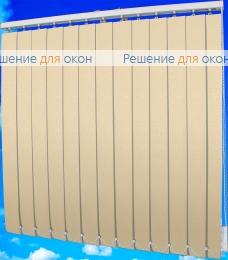 Жалюзи вертикальные ФОКУС блэкаут 29 бежевый от производителя жалюзи и рулонных штор РДО