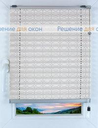 Прямоугольные формы. Веревочное управление., Плиссе Фреско 1090, белый от производителя жалюзи и рулонных штор РДО