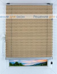 Прямоугольные формы. Веревочное управление., Плиссе Фреско 2372, слоновая кость от производителя жалюзи и рулонных штор РДО