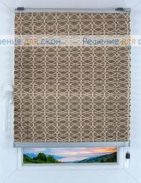 Прямоугольные формы. Веревочное управление., Плиссе Фреско 9090, кварцевый от производителя жалюзи и рулонных штор РДО