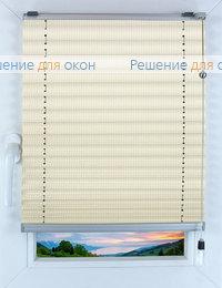 Прямоугольные формы. Веревочное управление., Плиссе Фьюжн Д/О 501, белый от производителя жалюзи и рулонных штор РДО