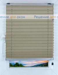 Прямоугольные формы. Веревочное управление., Плиссе Фьюжн Д/О 506, никель от производителя жалюзи и рулонных штор РДО