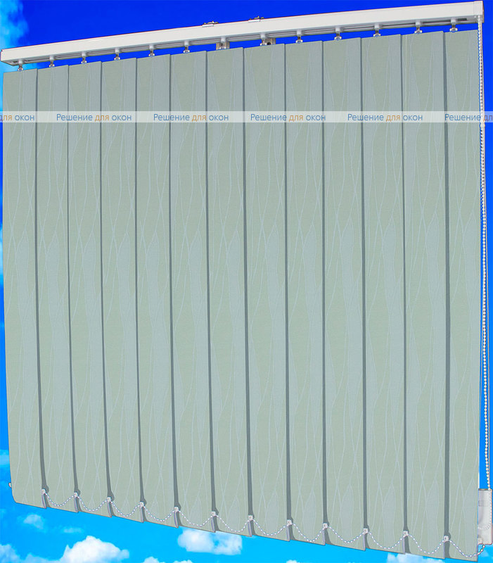 Жалюзи вертикальные ЖАККАРД БЛЭКАУТ бежевый от производителя жалюзи и рулонных штор РДО