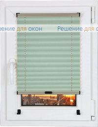 Шторы плиссе.Жемчуг Д/О 704, салатовый от производителя жалюзи и рулонных штор РДО