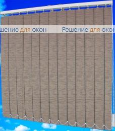 Жалюзи вертикальные ХАНОЙ 30 коричневый от производителя жалюзи и рулонных штор РДО