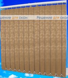 Жалюзи вертикальные ЖЕМЧУГ 065 персиковый от производителя жалюзи и рулонных штор РДО