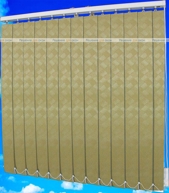 Жалюзи вертикальные ЖЕМЧУГ 071 желтый от производителя жалюзи и рулонных штор РДО