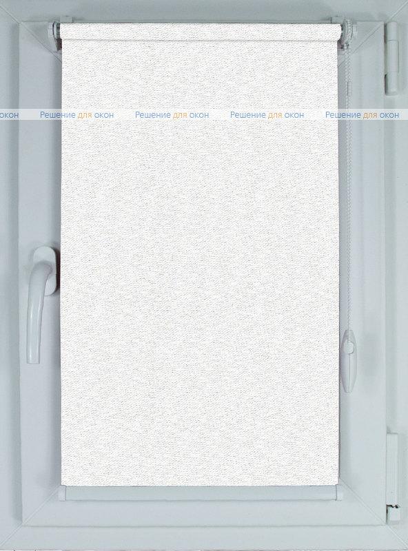 Рулонные шторы КОМПАКТ ЭКО 14 белый от производителя жалюзи и рулонных штор РДО