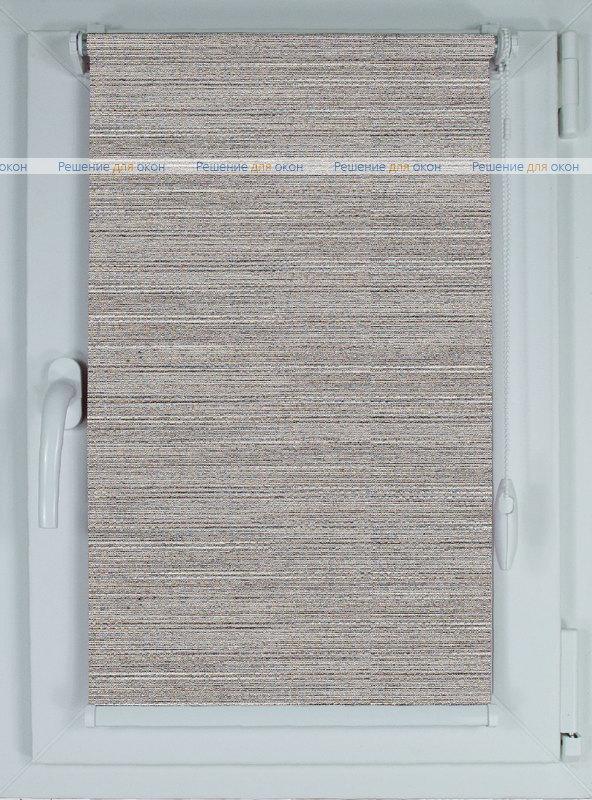 Рулонные шторы КОМПАКТ ЭКО 43 светло-серый от производителя жалюзи и рулонных штор РДО