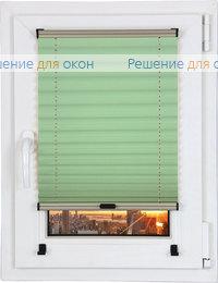 Шторы плиссе.Креп перл 215, салатовый от производителя жалюзи и рулонных штор РДО