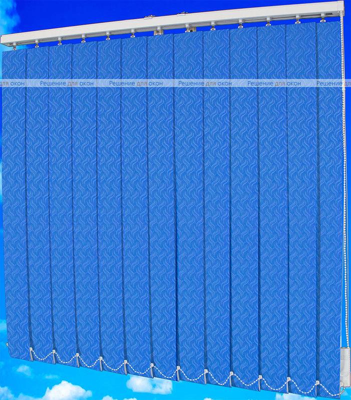 Жалюзи вертикальные КРЭШ 17 синий от производителя жалюзи и рулонных штор РДО
