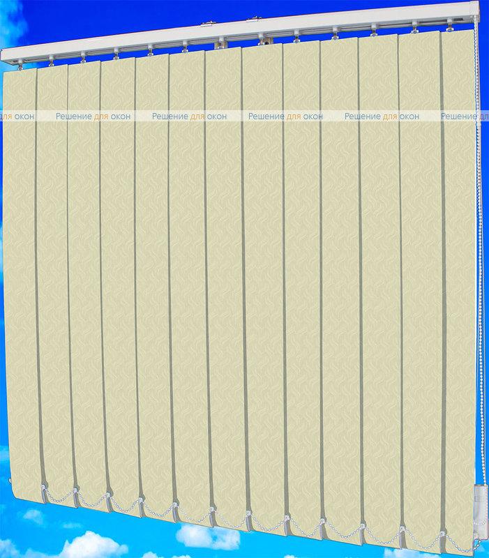 Жалюзи вертикальные КРЭШ 22 слоновая кость от производителя жалюзи и рулонных штор РДО