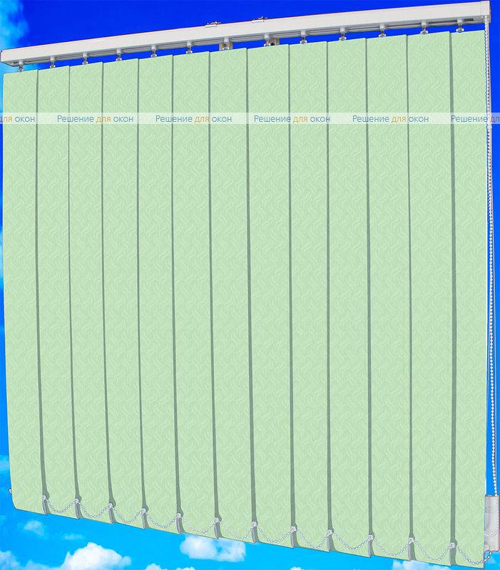 Жалюзи вертикальные КРЭШ 27 салатовый от производителя жалюзи и рулонных штор РДО