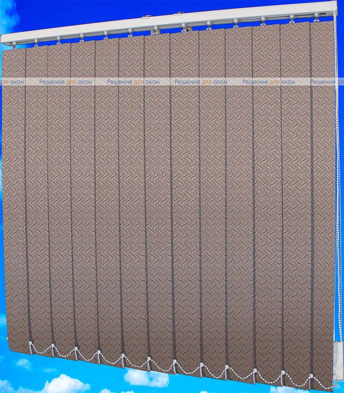 Жалюзи вертикальные КРЭШ 29 бежевый от производителя жалюзи и рулонных штор РДО