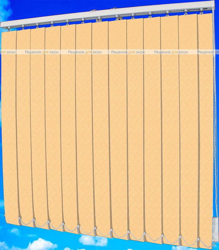Жалюзи вертикальные КРЭШ 87 персик от производителя жалюзи и рулонных штор РДО