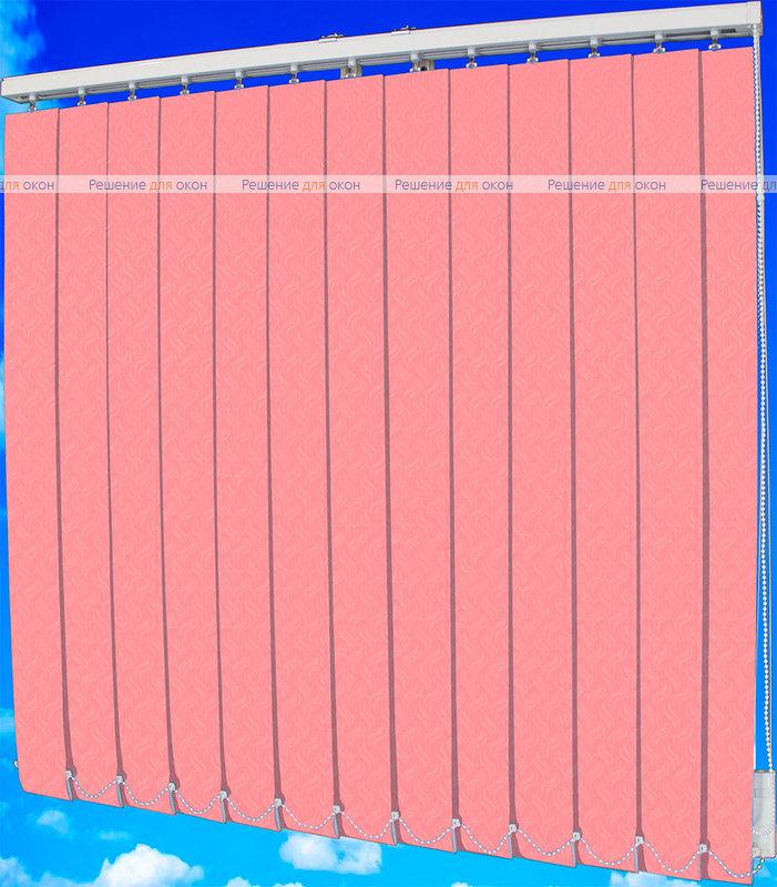 Жалюзи вертикальные КРЭШ 96 розовый от производителя жалюзи и рулонных штор РДО
