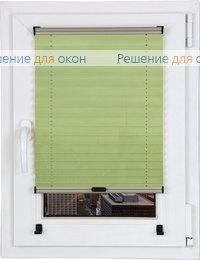 Шторы плиссе.Куба 021, салатовый от производителя жалюзи и рулонных штор РДО