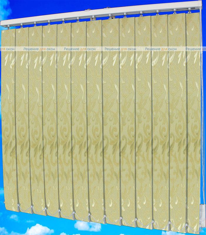 Жалюзи вертикальные ЛЕЙЛА 2261 бежевый от производителя жалюзи и рулонных штор РДО