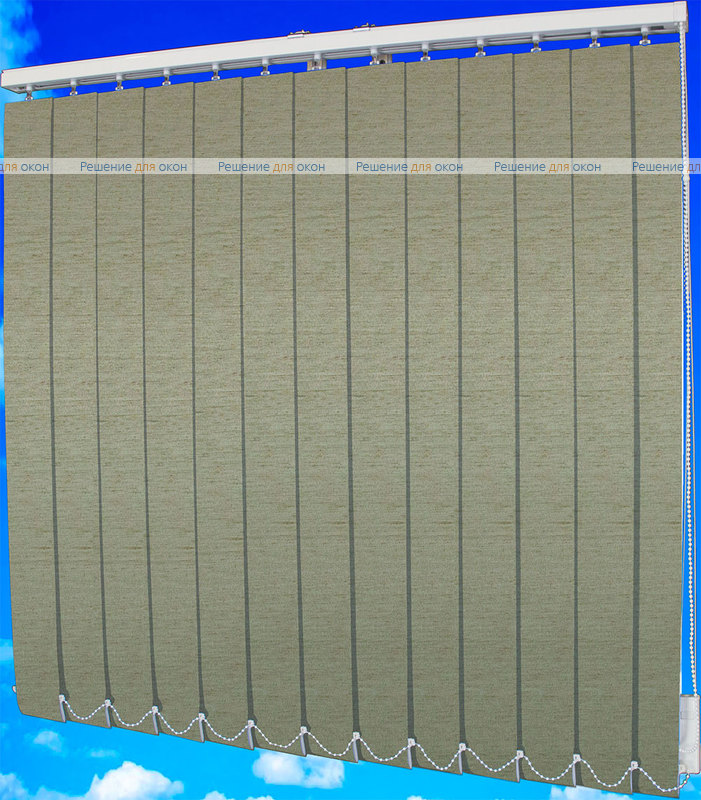 Жалюзи вертикальные ЛЕН блэкаут 29 бежевый от производителя жалюзи и рулонных штор РДО