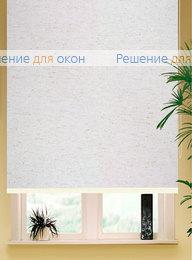 РК-42 Бокс квадрат на большие окна, Коробные рулонные шторы РК-42 Бокс квадрат АЛЛЕГРО ЛЁН 1001 от производителя жалюзи и рулонных штор РДО