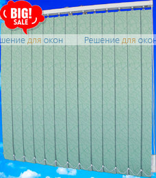 Жалюзи вертикальные ЛЕТО 93 зеленый от производителя жалюзи и рулонных штор РДО