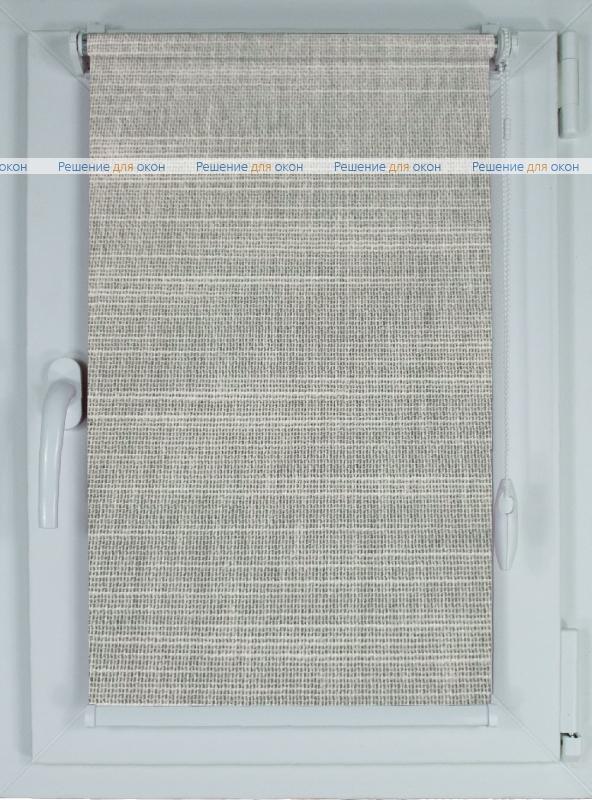 Рулонные шторы КОМПАКТ ЛИМА Б/О 8203 светло-серый от производителя жалюзи и рулонных штор РДО