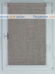 Рулонные шторы КОМПАКТ ЛИМА 8204 темно-серый от производителя жалюзи и рулонных штор РДО