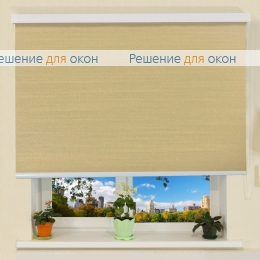 Коробные рулонные шторы РК-30 Бокс ЛИМА 8206 марципан от производителя жалюзи и рулонных штор РДО