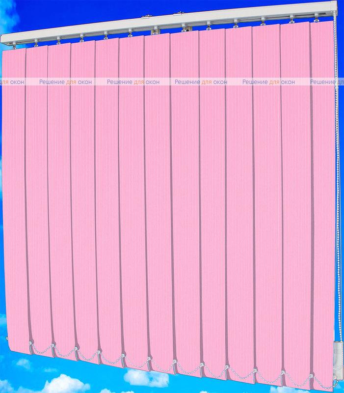 Жалюзи вертикальные ЛАЙН  061 розовый от производителя жалюзи и рулонных штор РДО