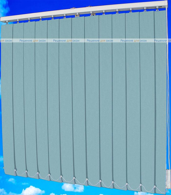 Жалюзи вертикальные ЛАЙН  101 голубой от производителя жалюзи и рулонных штор РДО