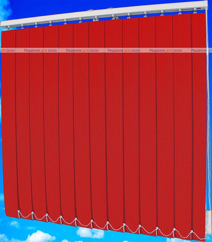 Жалюзи вертикальные ЛАЙН  4454 темно-красный от производителя жалюзи и рулонных штор РДО