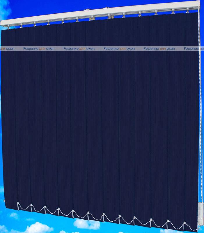 Жалюзи вертикальные ЛАЙН  5302 темно-синий от производителя жалюзи и рулонных штор РДО