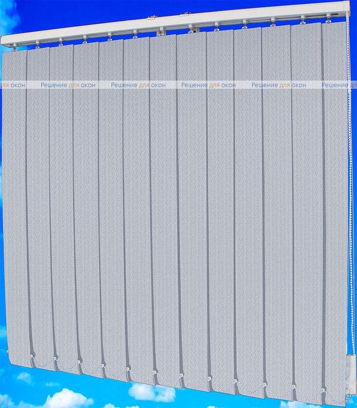 Жалюзи вертикальные МАГНОЛИЯ 05 серая от производителя жалюзи и рулонных штор РДО