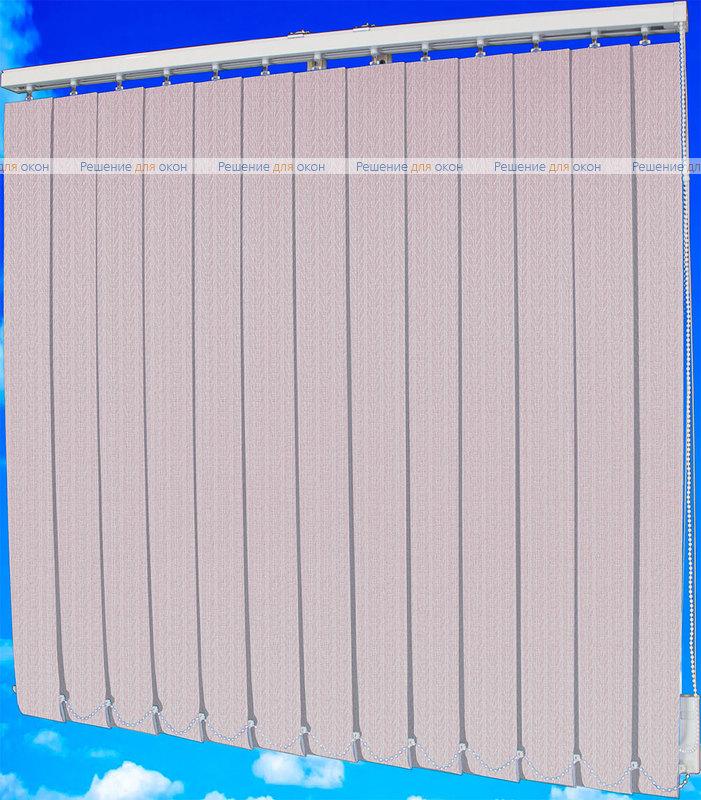 Жалюзи вертикальные МАГНОЛИЯ 07 розовый от производителя жалюзи и рулонных штор РДО