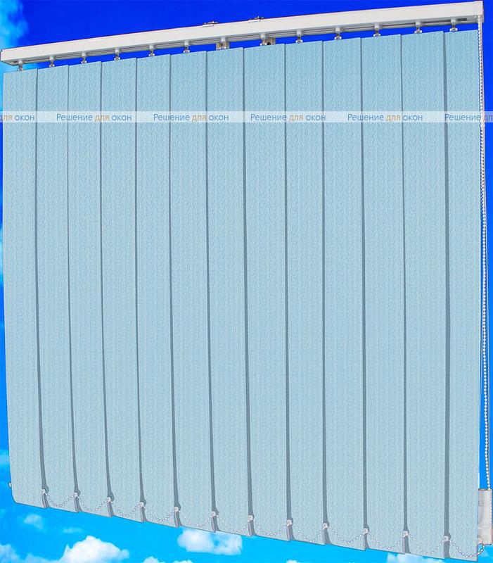 Жалюзи вертикальные МАГНОЛИЯ 08 голубой от производителя жалюзи и рулонных штор РДО